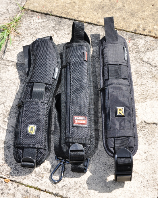 Black Rapid RS-4, Carry Speed CS1 and the Quick Strap