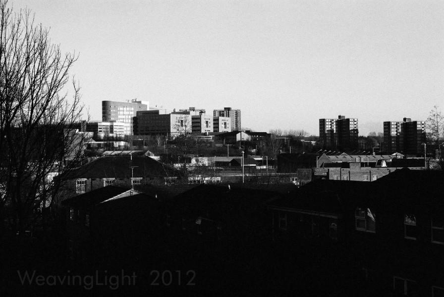 Looking Eastward over Leeds