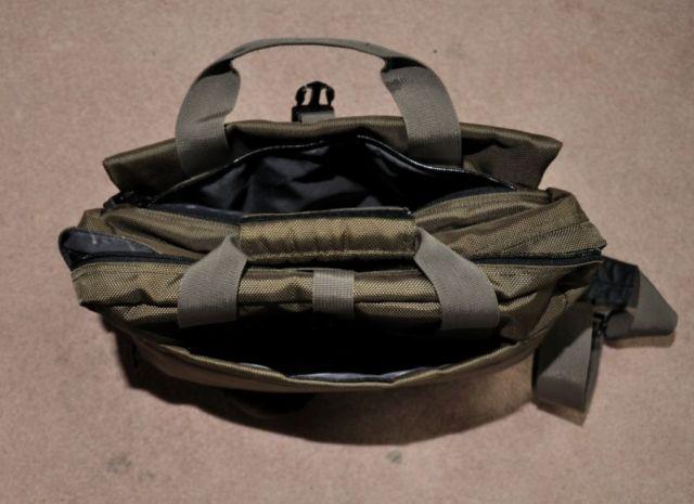 Lima bag outer pockets