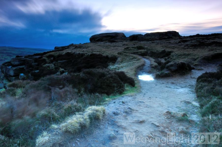 Ilkley Moor sunrise