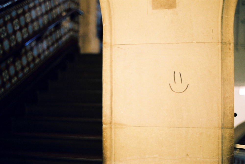 Leeds Central Library smiley