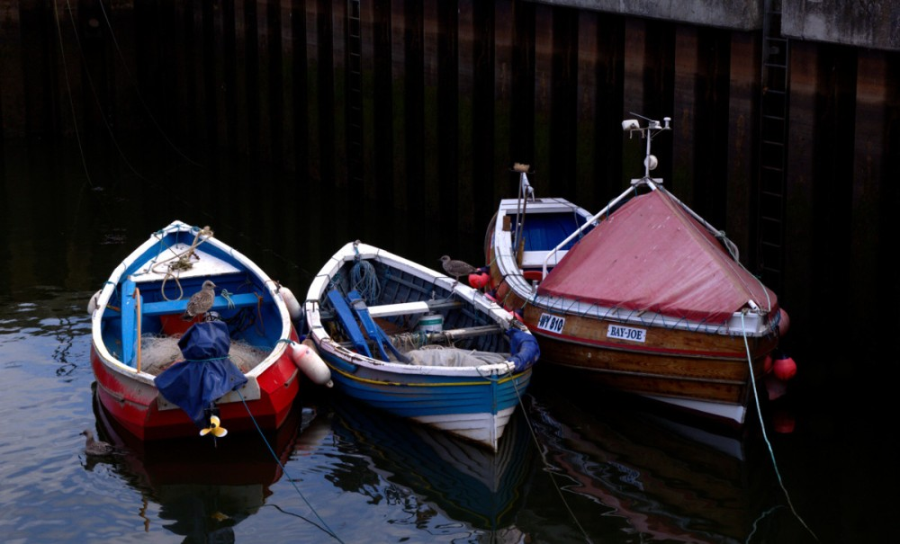 small boats Whitby