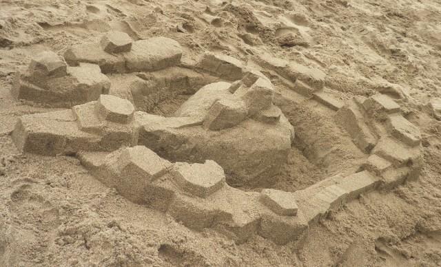 Sandcastle island
