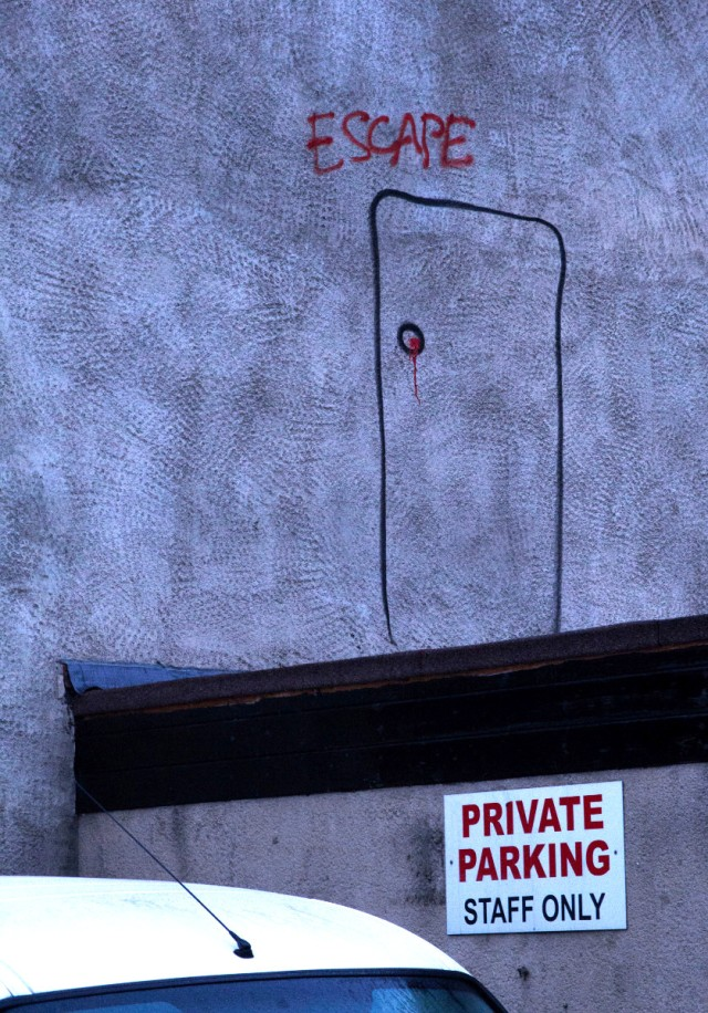 escape graffiti
