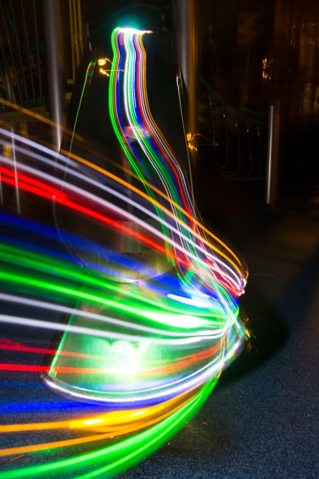 light trail slide