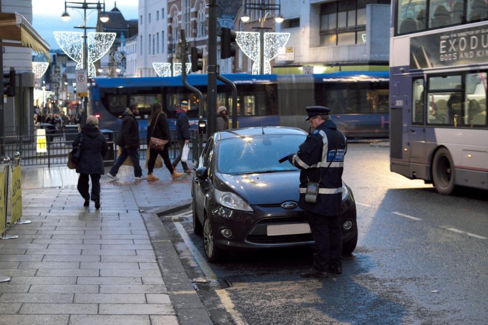 traffic warden in Leeds