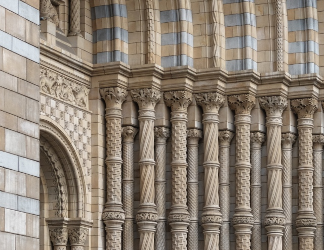 Natural History Museum Building detail