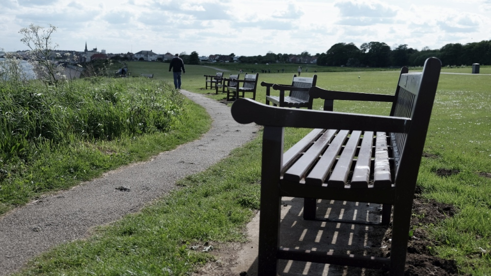 benches along the east coast